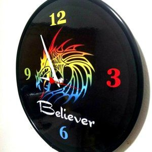 IMAGINE DRAGONS - BELIEVER - 12 IN WALL CLOCK